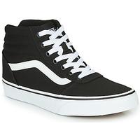 Shoes Women Hi top trainers Vans WARD HI Black