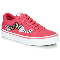 Shoes Girl Low top trainers Vans WARD Pink