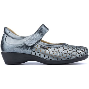 Shoes Women Flat shoes Calzamedi LETINAS  SQUARE GRIS