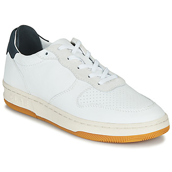 Shoes Low top trainers Claé MALONE White / Blue