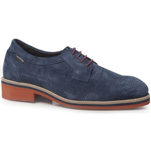 Shoes Men Derby Shoes Calzamedi SHOES  WITH CORD COMFORTABLE H AZUL