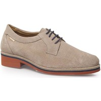 Shoes Men Derby Shoes Calzamedi SHOES  WITH CORD COMFORTABLE H BEIGE