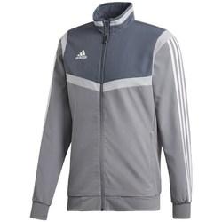 Clothing Men Track tops adidas Originals Tiro 19 Presentation White,Grey