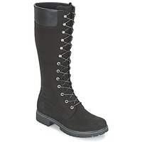 Shoes Women High boots Timberland WOMEN'S PREMIUM 14IN WP BOOT Black / Nubuck