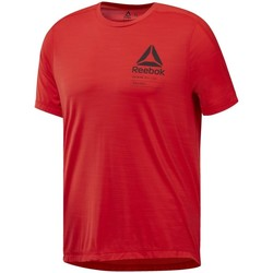 Clothing Men short-sleeved t-shirts Reebok Sport Activchill S Red