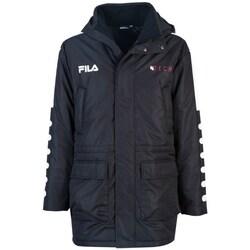 Clothing Men Parkas Fila Verlin Padded Jacket Black