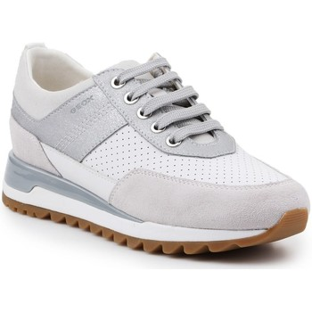 Shoes Women Low top trainers Geox D Tabelya Grey