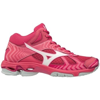 Shoes Women Basketball shoes Mizuno Bolt 7 Mid Pink