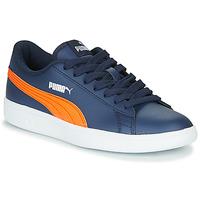Shoes Children Low top trainers Puma SMASH JR ME Marine