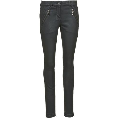 Clothing Women slim jeans Tom Tailor LIRDO Black / Oiled