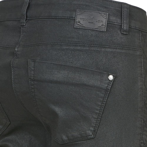 Tom Tailor LIRDO Black / Oiled - Free delivery  ! - Clothing slim jeans Women   41.39
