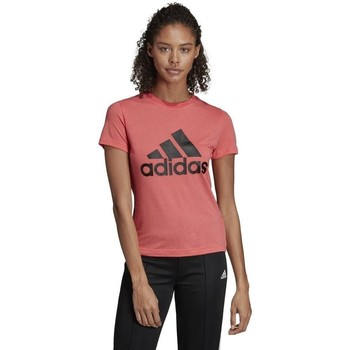 Clothing Women Short-sleeved t-shirts adidas Originals Must Haves Badge OF Sport Pink