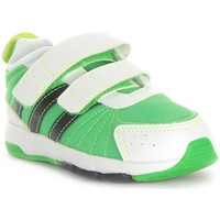 Shoes Children Low top trainers adidas Originals Snice 3 CF I White, Green