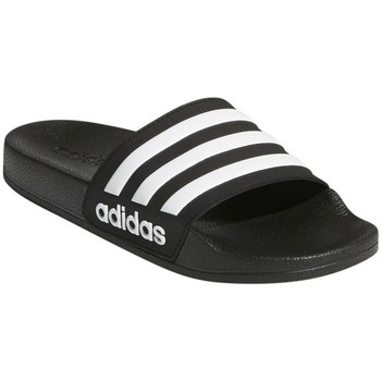 Shoes Children Sliders adidas Originals Adilette Shower K Black