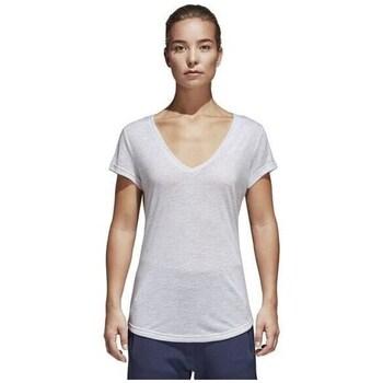 Clothing Women Short-sleeved t-shirts adidas Originals ID Winners White