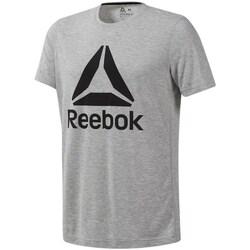 Clothing Men Short-sleeved t-shirts Reebok Sport Workout Supremium Grey