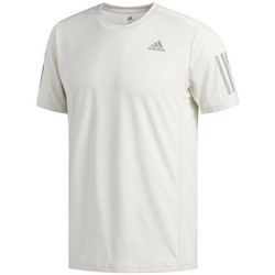 Clothing Men Short-sleeved t-shirts adidas Originals Own The Run Tee Cream