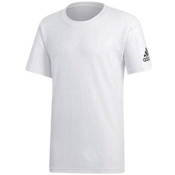 Clothing Men Short-sleeved t-shirts adidas Originals Stadium White