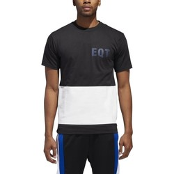 Clothing Men Short-sleeved t-shirts adidas Originals Graphic Eqt White, Graphite
