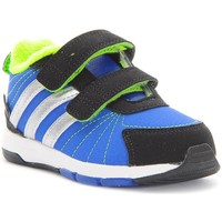 Shoes Children Low top trainers adidas Originals Wsnice 3 CF I Black, Blue