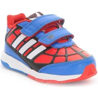 Shoes Children Low top trainers adidas Originals Disney Spiderman CF I Red, Blue