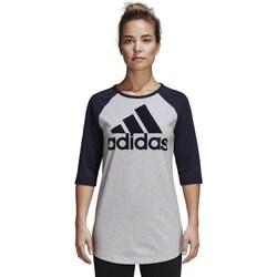 Clothing Women Short-sleeved t-shirts adidas Originals Performance Black, Grey