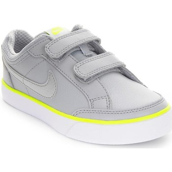 Shoes Children Low top trainers Nike Capri 3 Ltr Psv White, Grey