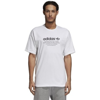 Clothing Men Short-sleeved t-shirts adidas Originals Originals Nmd White