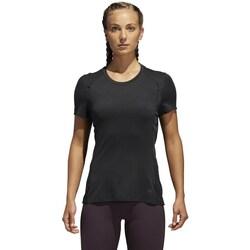Clothing Women Short-sleeved t-shirts adidas Originals Supernova Graphite
