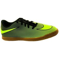 Shoes Men Football shoes Nike Bravatax II IC Black, Green