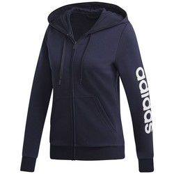 Clothing Women Sweaters adidas Originals Essentials Linear FZ Navy blue