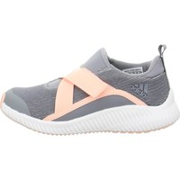 Shoes Children Low top trainers adidas Originals S Fortarun X Grey, Orange