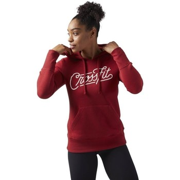 Clothing Women Sweaters Reebok Sport Crossfit Red