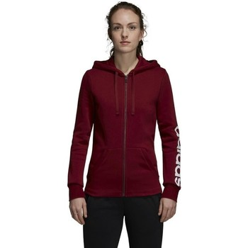 Clothing Women Sweaters adidas Originals Essentiails Linear Burgundy