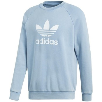 Clothing Men Sweaters adidas Originals Trefoil Warmup Light blue