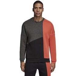 Clothing Men Sweaters adidas Originals ID Stadium Remix Black, Grey, Orange