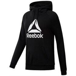 Clothing Women Sweaters Reebok Sport Wor Delta Oth Black