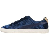 Shoes Women Low top trainers Puma Clyde X Extra Butter Unisex Navy blue