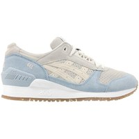 Shoes Men Low top trainers Asics Gel Respector Light blue