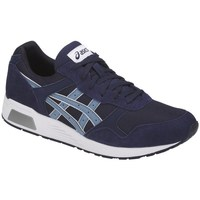 Shoes Men Low top trainers Asics Lyte Trainer White, Blue, Navy blue