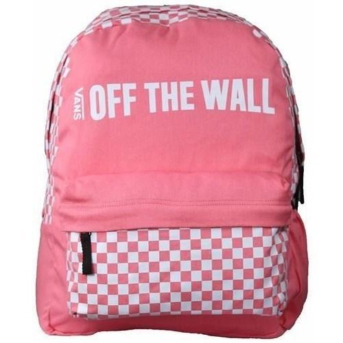 Bags Rucksacks Vans Central Realm Pink