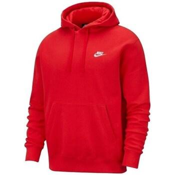 Clothing Men sweaters Nike Club Fleece Red