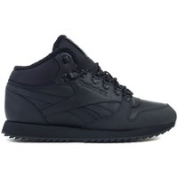 Shoes Men Mid boots Reebok Sport CL Lthr Mid Ripple MU Black
