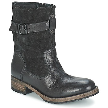 Shoes Women Mid boots Pataugas DECK Black
