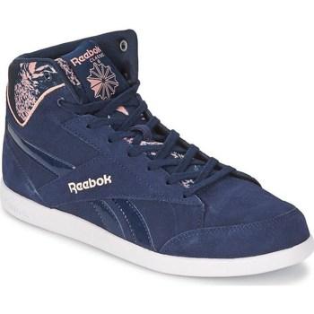 Shoes Women Hi top trainers Reebok Sport Fabulista Mid II Navy blue,Pink