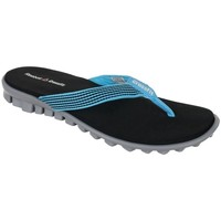 Shoes Women Flip flops Reebok Sport Cfthong Black,Light blue
