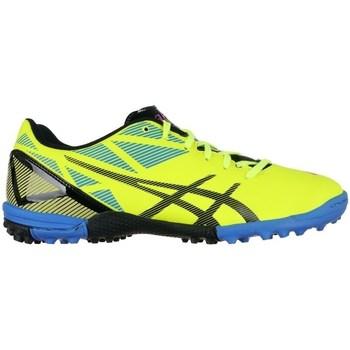 Shoes Men Football shoes Asics Dangan TF Black, Yellow