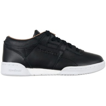 Shoes Women Low top trainers Reebok Sport Classic Workout LO Black