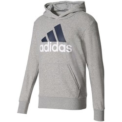 Clothing Men sweaters adidas Originals Essentials Linear Pullover Hood French Terry M Grey