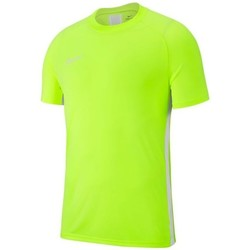 Clothing Boy short-sleeved t-shirts Nike JR Academy 19 Celadon